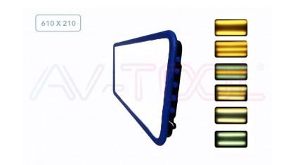 LED плафон средний 04007