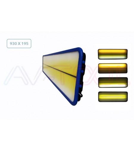 LED плафон большой 04011