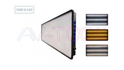 LED Плафон 5 полосный с 2 регулировками яркости 04043