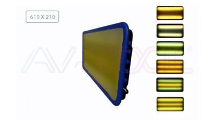 Большая мобильная лампа под аккумулятор 04076