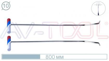 Пара силовых крючков с ножевым окончанием 08001-2