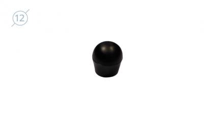 Колпачок сферический из твердой пластмассы.11084