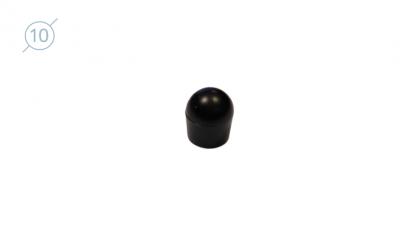 Колпачок сферический из твердой пластмассы.11085