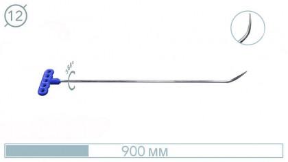 Крючок  с поворотной рукояткой 44PDRE