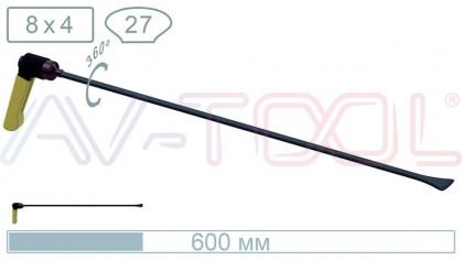 Китовый хвост с поворотной ручкой 18014PR
