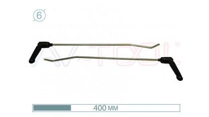 Крюки с поворотными ручками 12006-2