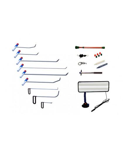 Комплект профессионального PDR инструмента 22 предмета
