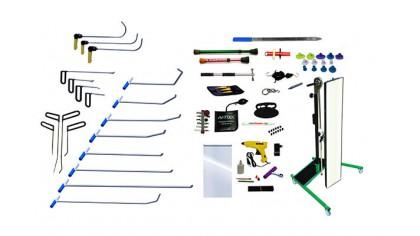Инструменты для удаления вмятин PDR (91 предмет)