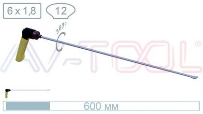 Китовый хвост с поворотной ручкой 18030PR