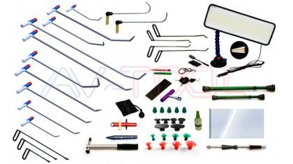 Комплект профессионального PDR инструмента, 68 предметов