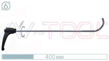 Крючок с поворотной ручкой 10050PR