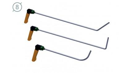 Комплект дверного инструмента КД-4 Platinum
