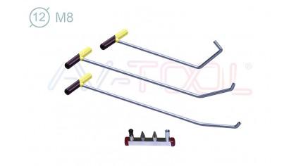 Комплект инструмента со сменными насадками 14026-3