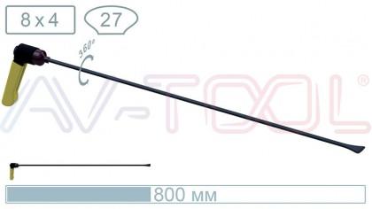 Китовый хвост с поворотной ручкой 18015PR