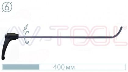 Крючок с поворотной ручкой 10051PR